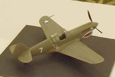 Curtiss P-40 model