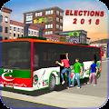 PK Elections Bus Driving 2018: Siyasi Dangal Game