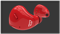 Earpieces-Red
