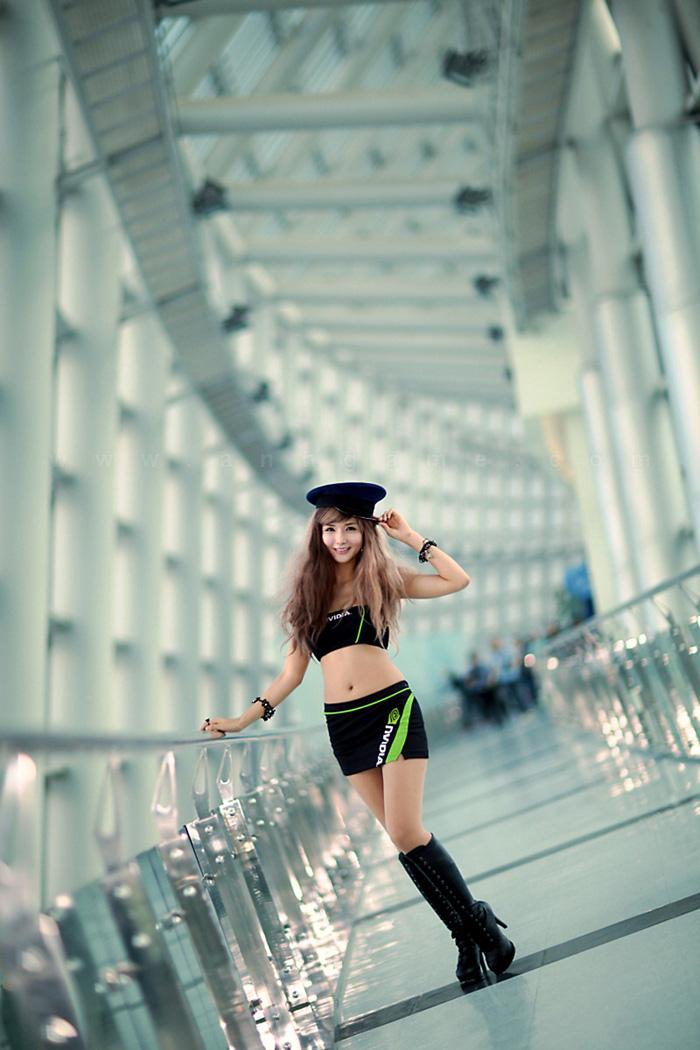 Showgirl G-star 2012: Cha Sun Hwa - Ảnh 46
