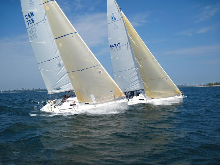 2011 - Thunderstruck and the Usual Suspects - J/105 Fleet 4 Lake Ontario