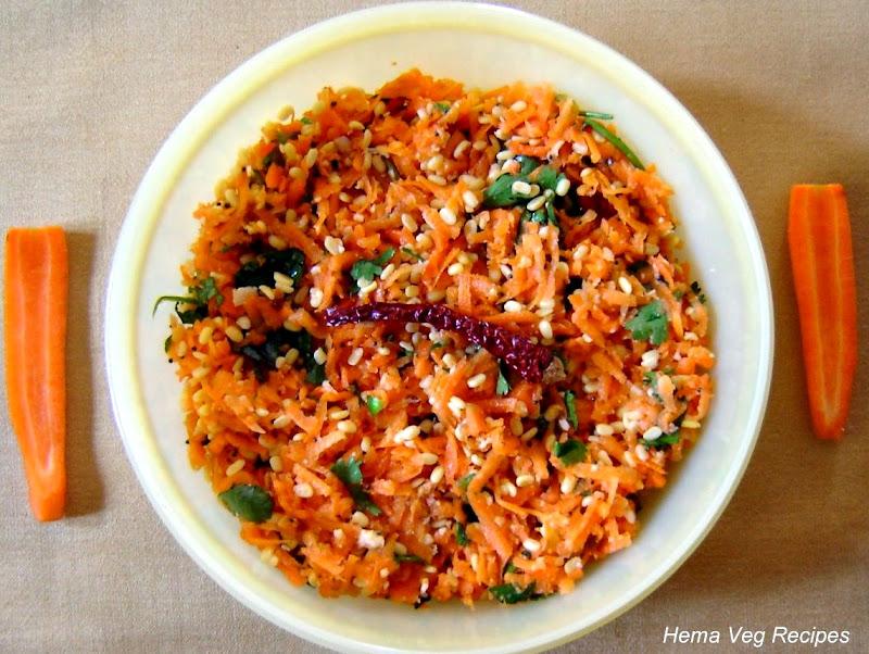 Carrot Kosambri Salad