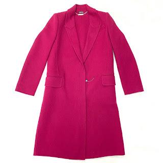 Alexander McQueen Fuchsia Coat