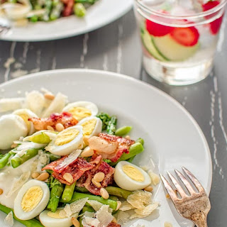 ASPARAGUS AND BACON SALAD