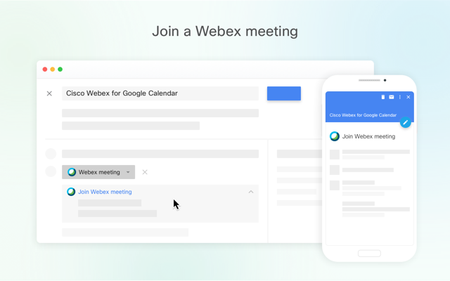 Cisco Webex - G Suite Marketplace