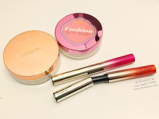 [Makeup] L'ORÉAL PARiS 春日光感之家︰氣墊粉底+Cushion唇筆+胭脂Cushion ...