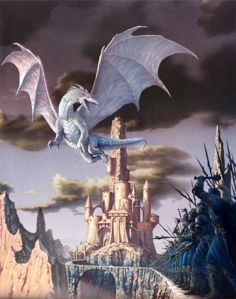 Ciruelo Cabral Attack Of The White Dragon, Dragons