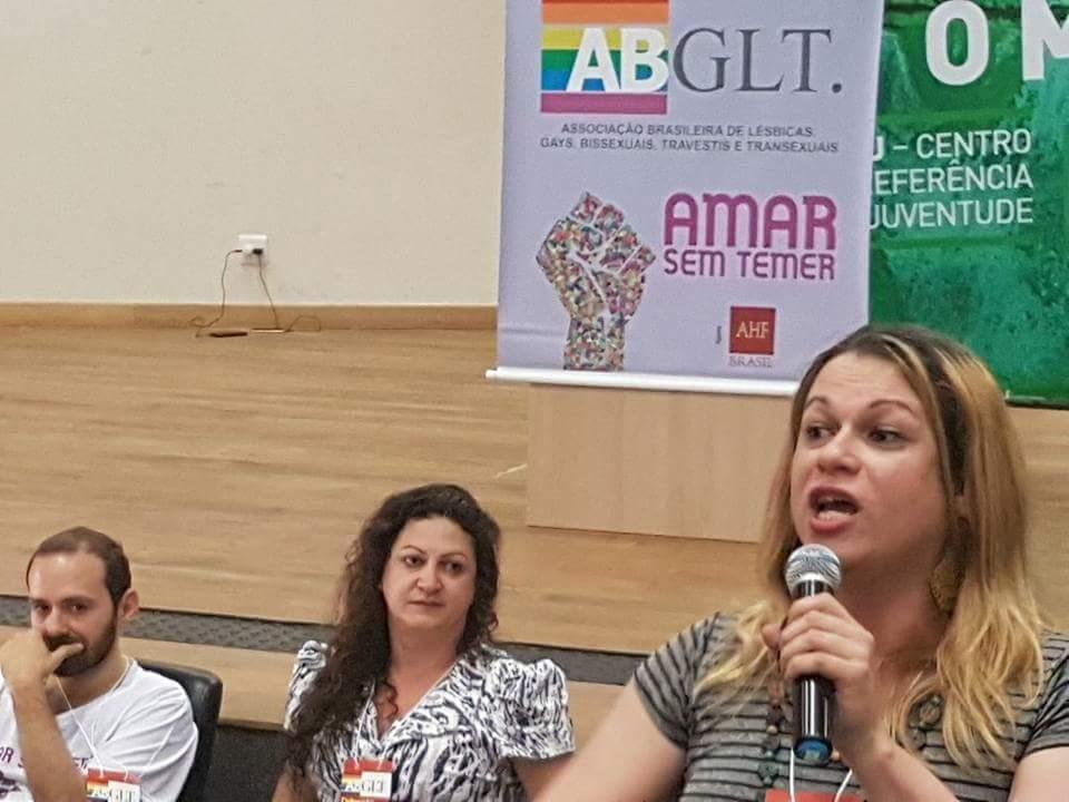 Em assembleia geral, Symmy Larrat é eleita a primeira trans presidente da ABGLT