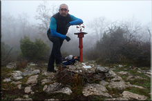 Labazar (Arangatxa) mendiaren gailurra 923 m. --  2015eko abenduaren 11an