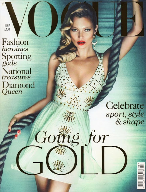Vogue UK - Kate Moss - June 2012