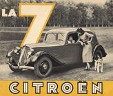 Citroen Traction 7 affiche