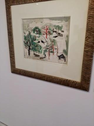 Sans titre de Zao Wou-Ki au Musée d'art de Pully