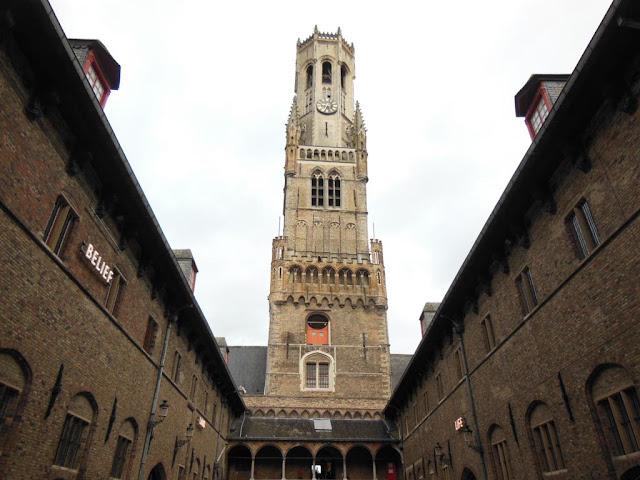 Campanario de Brujas: una de las ciudades más bonitas de Bélgica