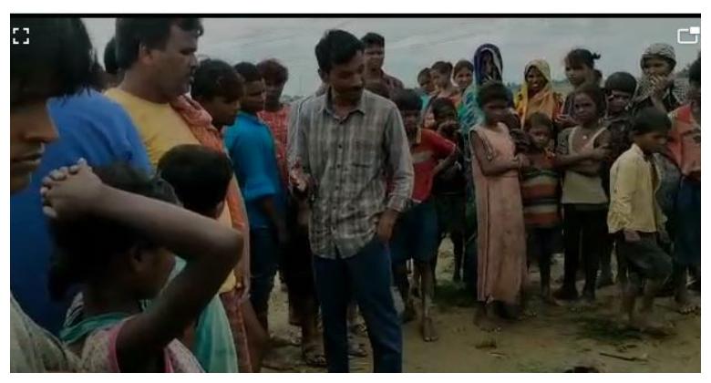 खगड़िया के बेलदौर में पानी से भरे गड्ढे में डूबने से मासूम भाई-बहन की मौत