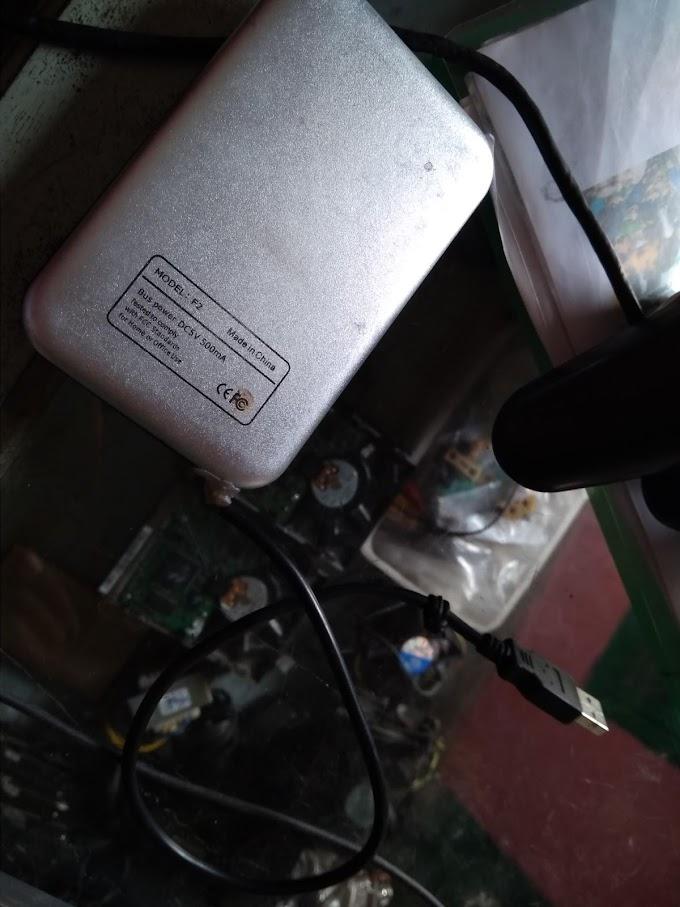 Hard drive eksternal yang tidak muncul di My Computer