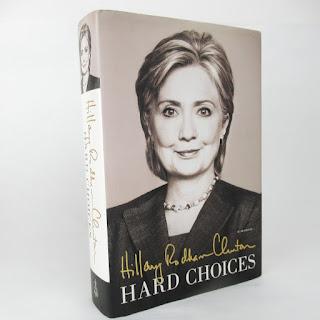 Hillary Clinton SIGNED 'Hard Choices' Book