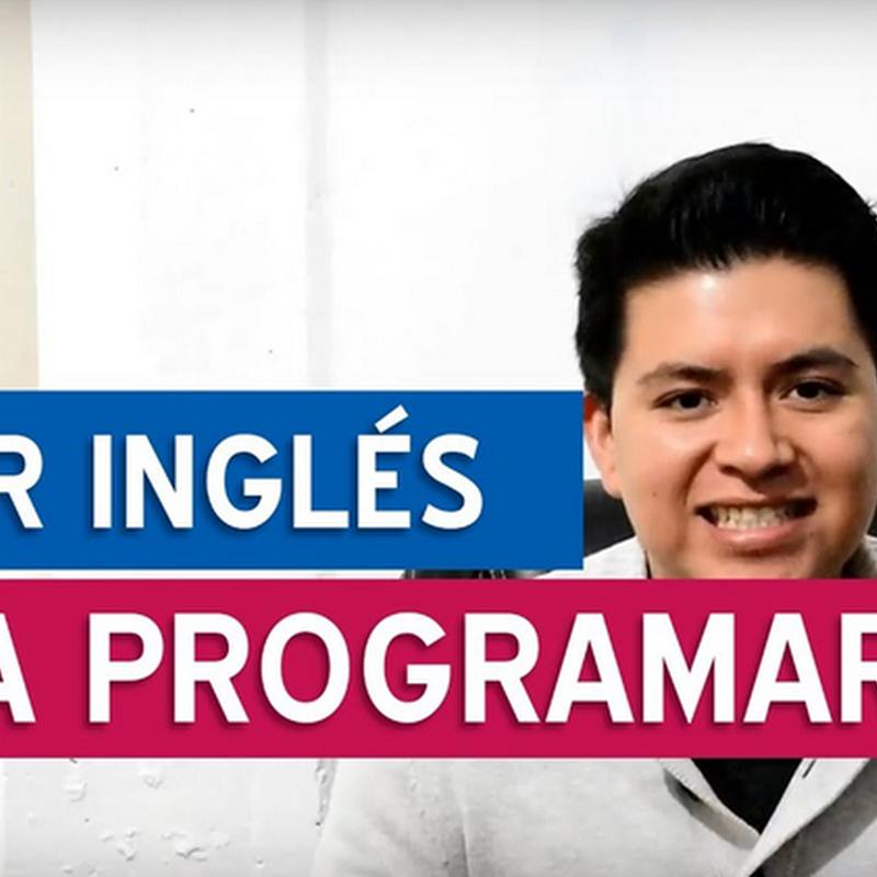 ¿Es importante hablar inglés para ser programador?
