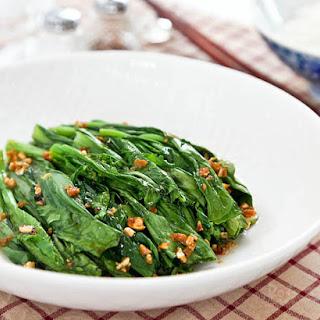 Choy Sum Garlic Recipes