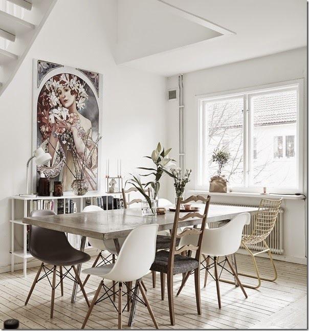 case e interni - stile scandinavo - urban chic - bianco (01)