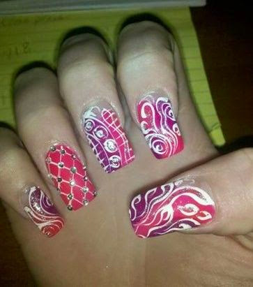 Diamond Nail Art
