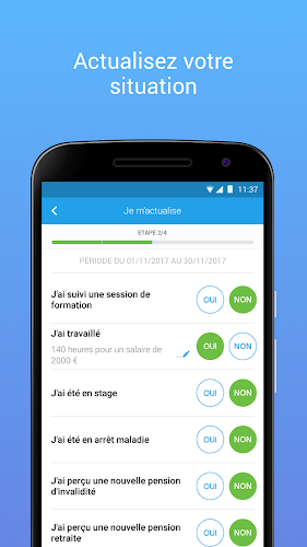 Mon Espace - Pôle emploi Android App Screenshot