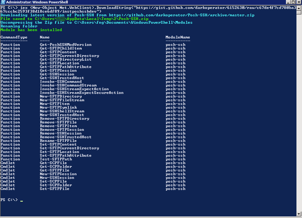 VRO: Copy files from a Linux server to a Windows Server