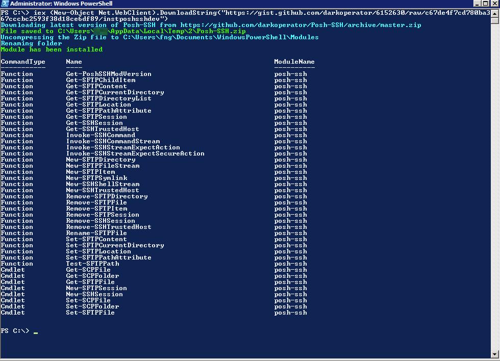 VRO: Copy files from a Linux server to a Windows Server | Fdo's
