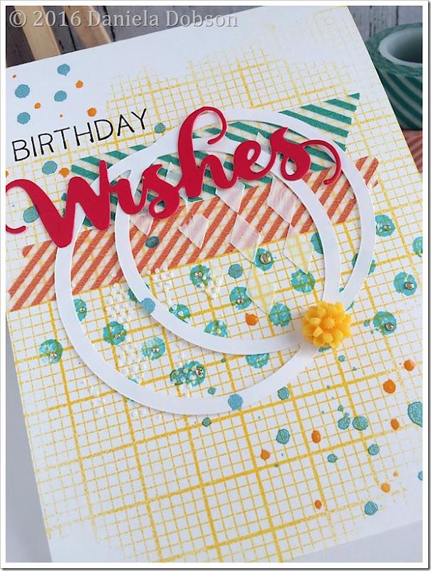 Birthday wishes close by Daniela Dobson