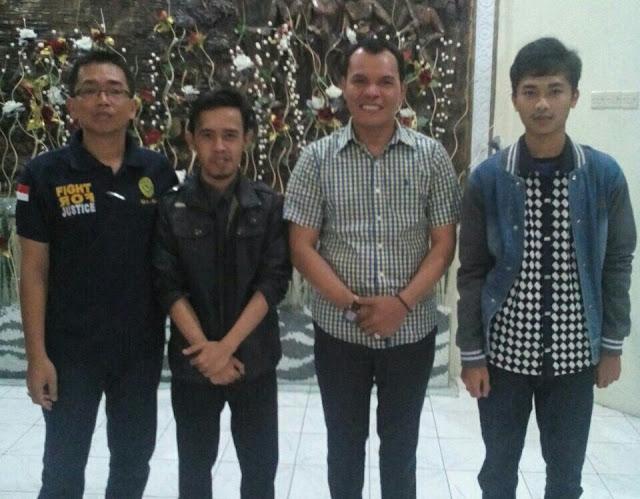Bogi DA 4 Indosiar Kerinci, Latihan Perdana Bersama Wabup Kerinci