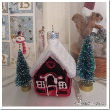Christmas House tree decoration