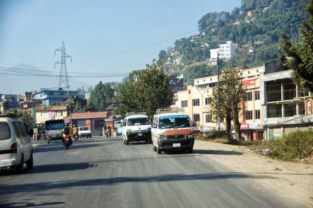 達人帶路-環遊世界-尼泊爾PoonHill健行-路上