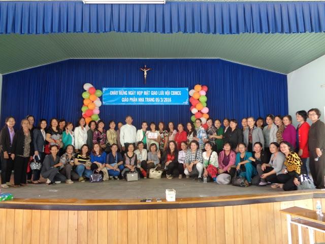 Ngày hội giao lưu các bà mẹ Công giáo Giáo phận Nha Trang