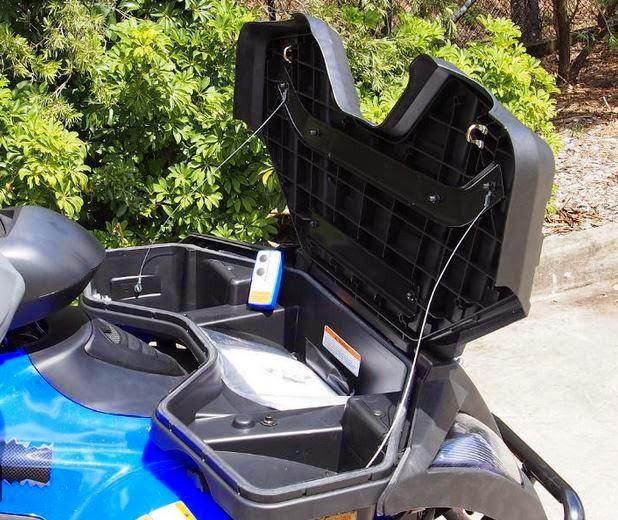 400 Linhai Yamaha ATV Farm 4x4 Quad Bike Rear Storage