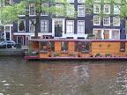 Πλωτό σπίτι στα κανάλια του Amsterdam