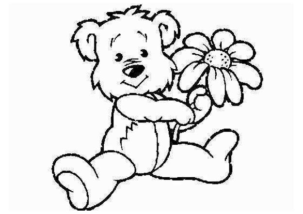 Baby Animal Coloring Pages  Cartoon Baby Zoo Animals Coloring  Pages