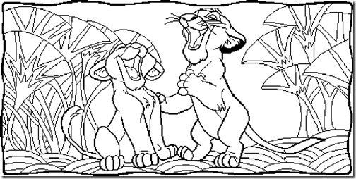 simba rrey leon colorear (3)