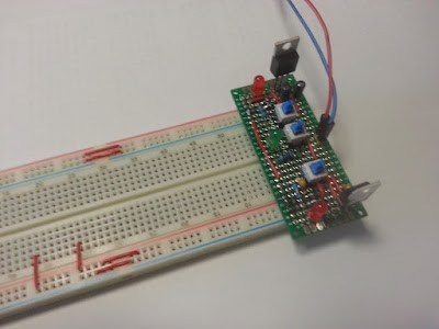 Breadboard power supply 5V/3.3V