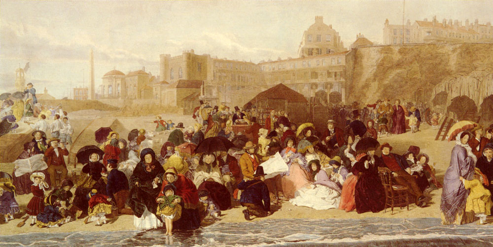 William Powell Frith - At The Seaside Ramsgate Sands