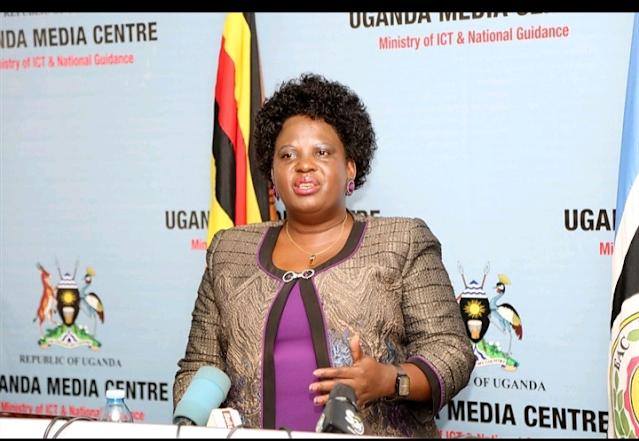 Ugandan Minister of Gender, Labour and Social Development Betty Amongi photo