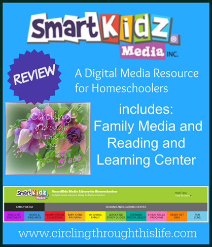 SmartKidz Media a Digital Media Resource for Homeschoolers ~ Read Tess's Review at Circling Through This Life