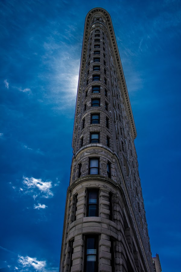 Flatiron Building by Allyah Lombardo - Buildings & Architecture Public & Historical ( building, flatiron building, nyc, new york city )