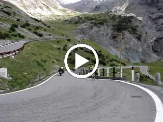 Descending the Stelvio