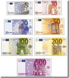 euros billetes y monedas (2)