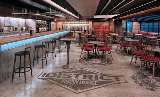 District Brewhouse on Norwegian Escape offers 70 different brews. Here are our picks of 5 top cruise ship bars for beer fans.