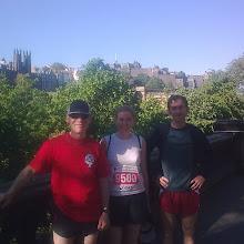 Edinburgh Marathon 2009