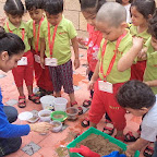 Gardening Activity by Nursery Section at Witty World (2015-16)