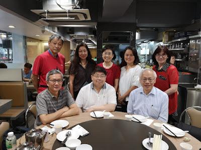 會後去深水埗森記吃晚飯,潘錦明專程由香港趕過來(唔記得淨食雙計添!)