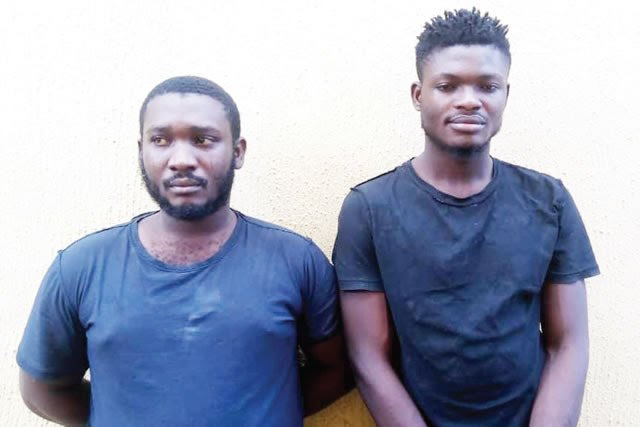 Two boys arrested for attempted robbery
