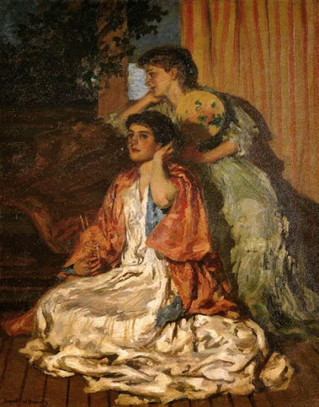 Rupert Bunny - Moonlight Sonata, 1907