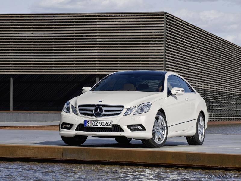 2012 MercedesBenz EClass Coupe Specifications Pictures Prices